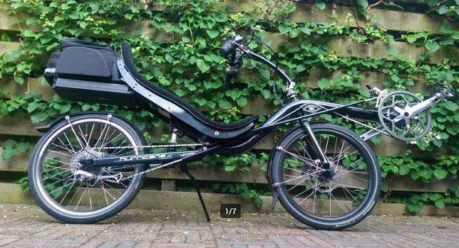 Rower poziomy, e-bike, rower elektryczny