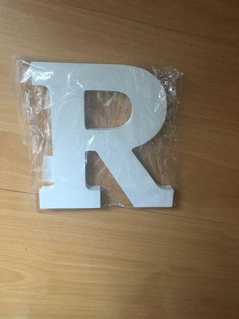 Inicjał R 15 cm nowy!