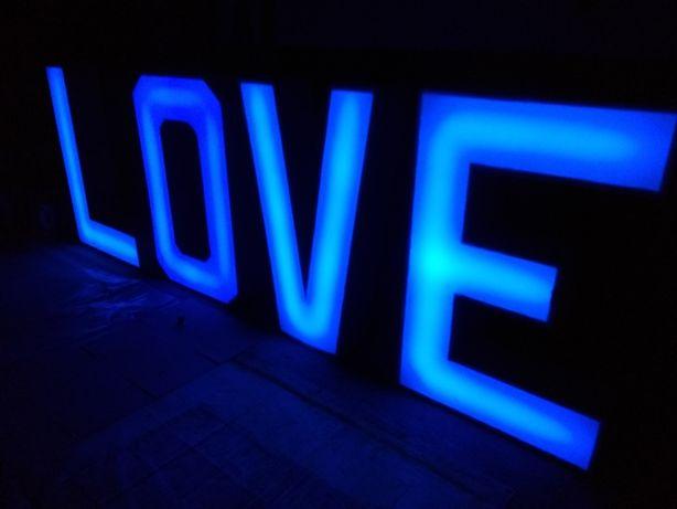 SPRZEDAM LOVE napis/litery