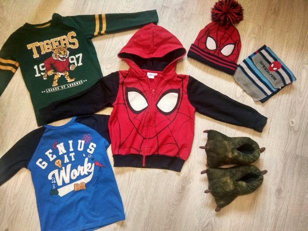 Zestaw ubrań dla fana Spidermana Kapcie 122