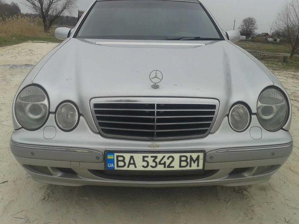 Mercedes E-class W210 4.3 4matic Газ-бензин
