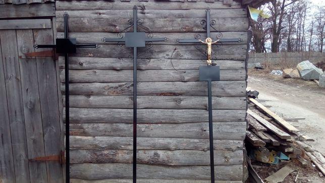 Кресты железные(металлические). Гробы(труны)