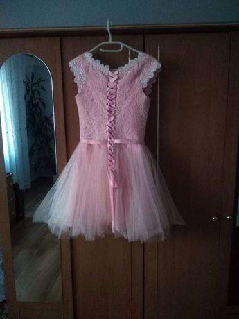 suknia z tiulem