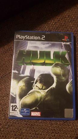 Hulk gra na konsole PS2