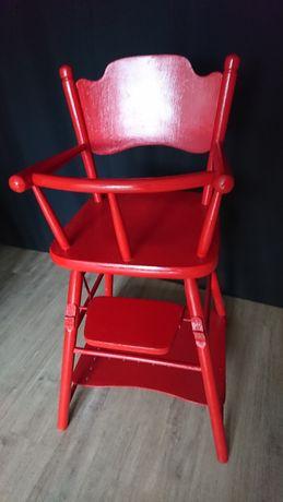 Krzesełko do karmienia PRL stolik