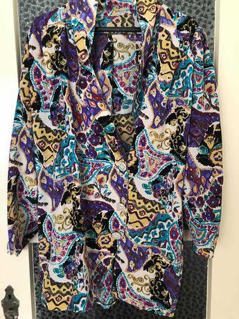Camisa, camiseiro, casaco vintage oversize