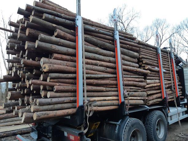 Stemple stęple budowlane Transport Małopolska