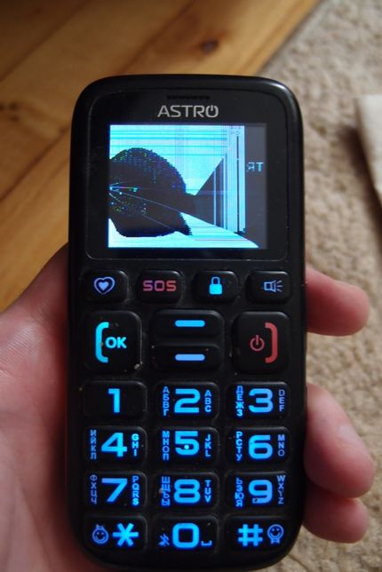 Телефон бабушкофон Astro B181
