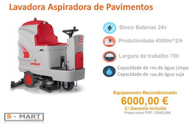 Lavadora Pavimentos COMAC Innova 75