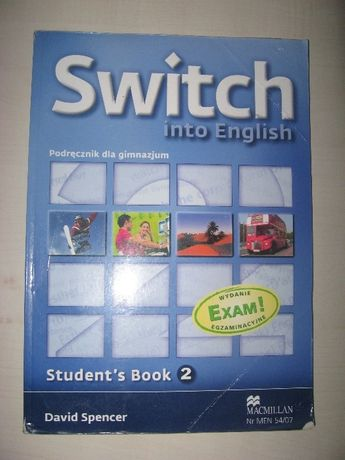Switch into English 2 podręcznik do gimnazjum