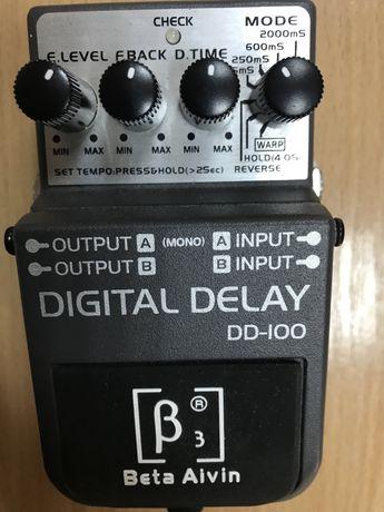 Гитарная педаль эффектов DELAY ba-dd100 примочка под BOSS.(торг)