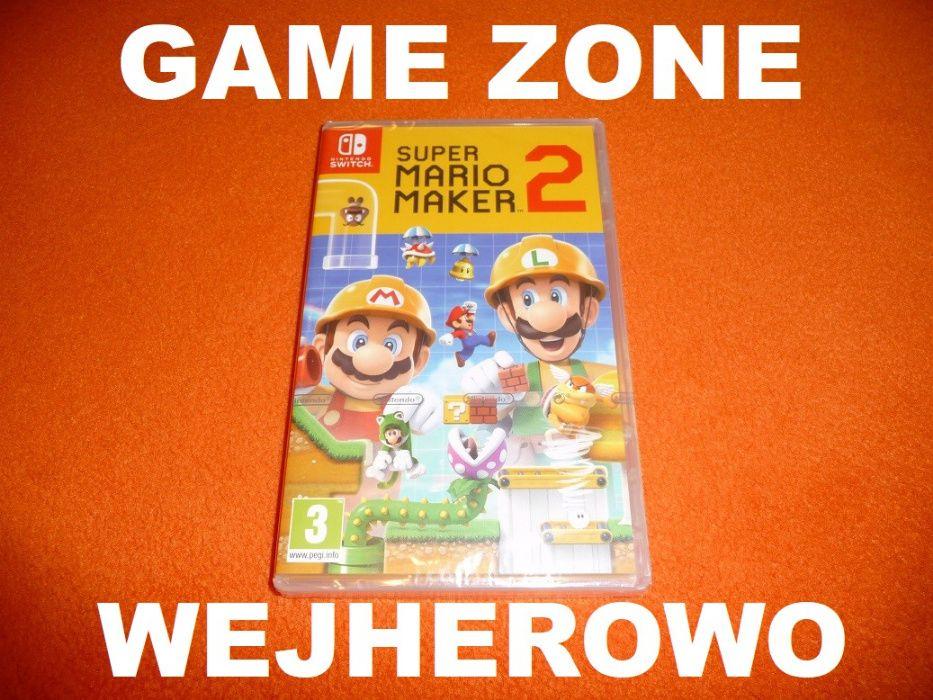 Super Mario Maker 2 Nintendo SWITCH = Wejherowo = Gwarancja Wejherowo - image 1