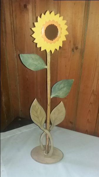 WARTE UWAGI ! Piękny Drewniany Słonecznik - Ręczna Robota ! Zakopane - image 1