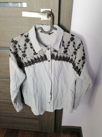 Biznes casual elegancka koszula koszule Zara