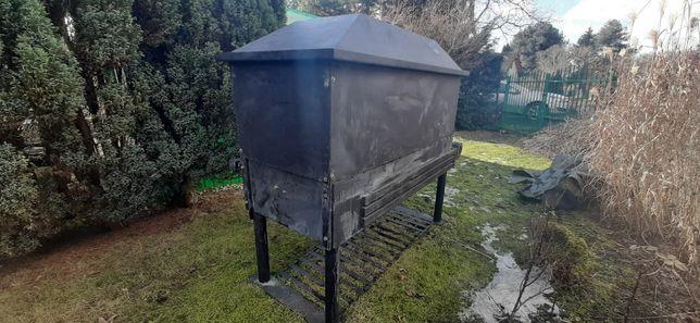 Sprzedam grill węglowo-elektryczny