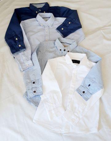 Рубашка нарядная для мальчика Zara, H&M p. 98
