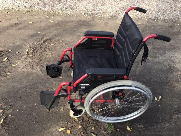 Wózek inwalidzki MEYRA składany aluminiowy