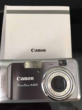 Máquina Fotográfica Canon Powershot A450