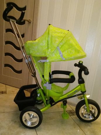 Детский велосипед трехкрлесный azimut trike