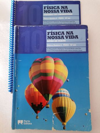 """Física na nossa vida"" Manual e CL de Fisica e Quimica A 10 Ano"