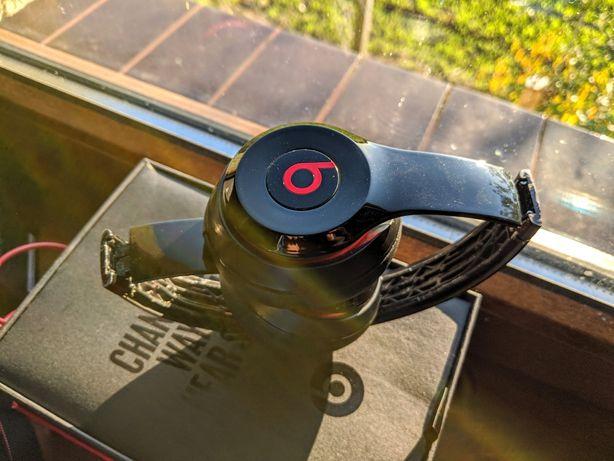 Oryginalne słuchawki Beats Solo 2 bdb stan, guma pod pałąk do wymiany