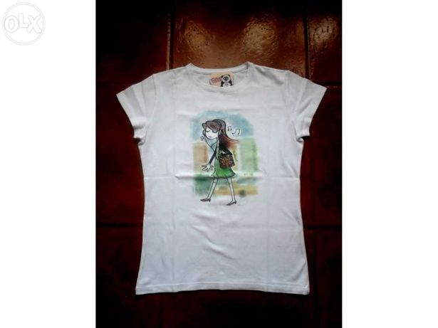 T-Shirt de rapariga/senhora da Throttleman
