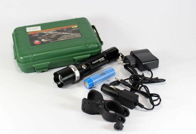 Светодиодный ручной фонарь фонарик на велосипед X-Balog BL-T8628 Q5