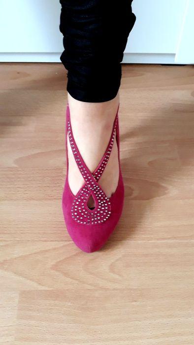 Ròzowe damskie buty Szklary Dolne - image 1