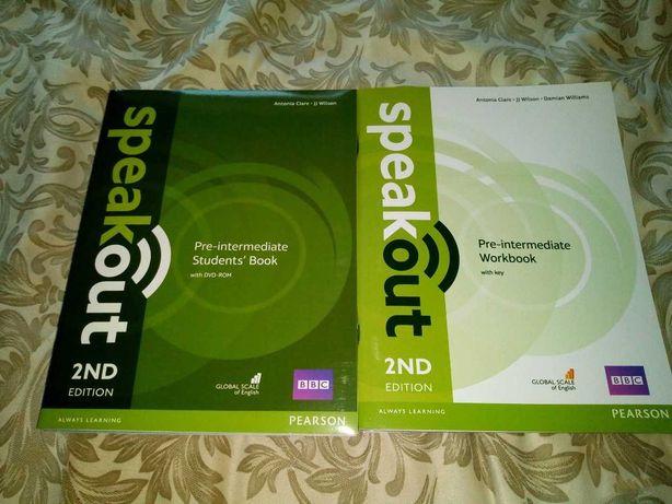 SpeakOut (2nd Edition) - Pre-intermediate. SB+WB+Audio
