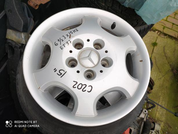 Felga Mercedes W202 6. 1/2 cala Jx15 H2 , ET 37