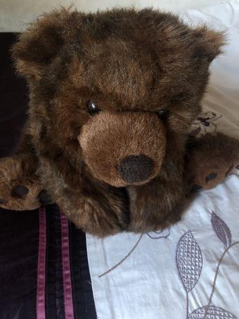 Большая мягка игрушка медведь гризли