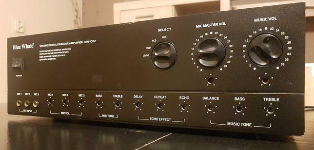 Wzmacniacz Blue Whale BW-1002 Karaoke