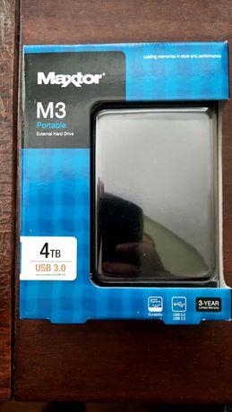 Maxtor STSHX-M401TCBM USB 4TB M3, Black