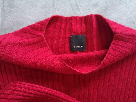 Sweter Pinko, rozm. M, bordowy