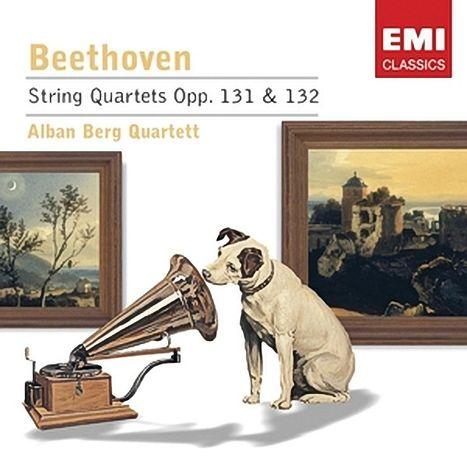 """Компакт-диск String Quartets Opp. 131 & 132"""", Бетховен"""