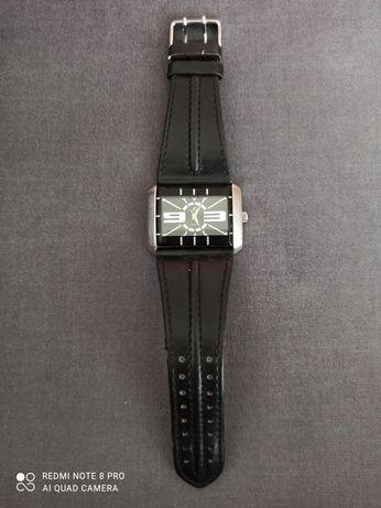 Zegarek z paskiem skórzanym Timemaster