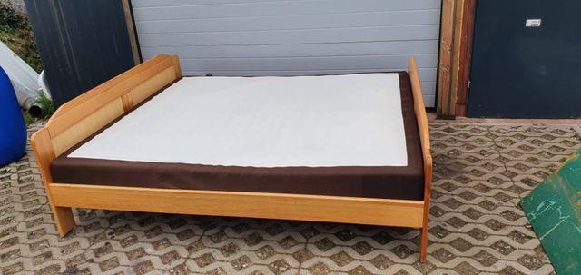 łóżko Drewniane 180X200 z materacem TRANSPORT!!