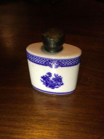 Frasco perfume companhia das índias tampa prata com contraste 8 cm
