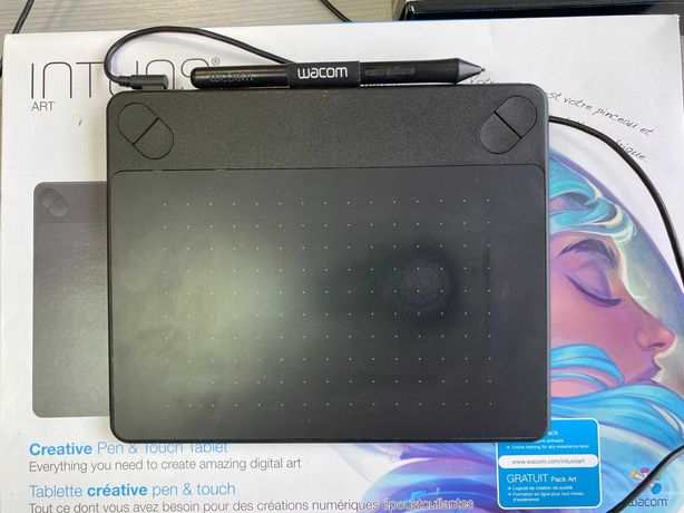 Графический планшет Wacom Intuos S (Black)