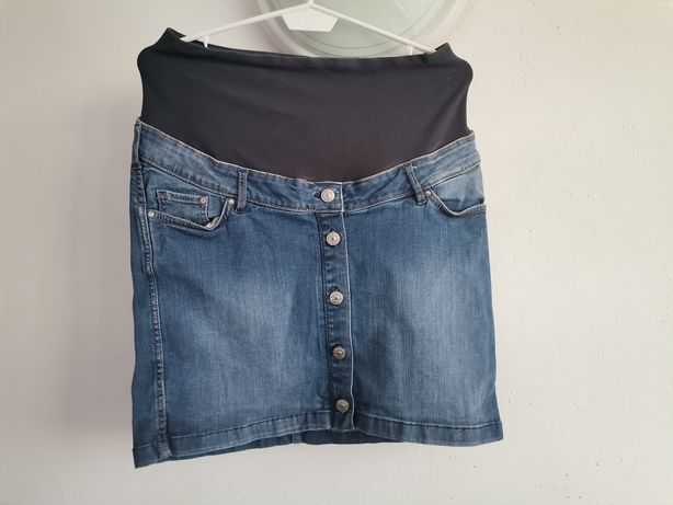 Ciążowa spódnica H&M mini r. 38