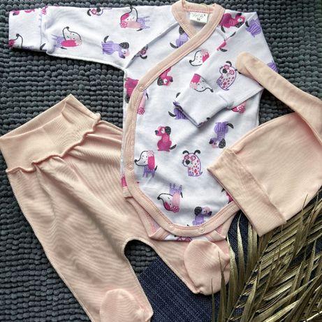 Комплекты для новорождённых. 56,62 размер