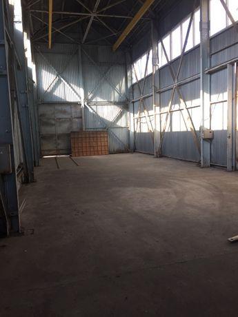 Аренда металлического ангара 178 квм., кран-балка 5 тонн.