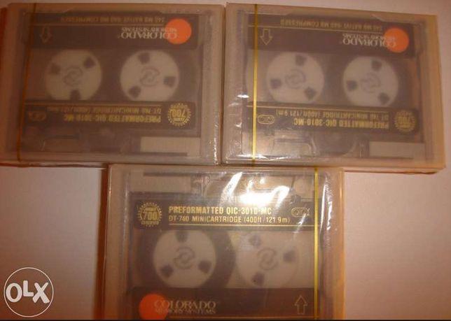 3 Unidades - qic-3010-mc mini cartridge 640megas - NOVO
