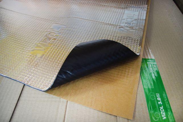 Віброізоляція Vizol 4.0мм (700×500) Виброизоляция Шумоизоляция