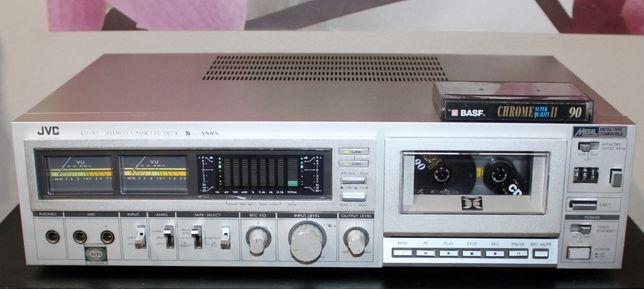 Magnetofon JVC KD-A7E kultowy/analizator widma