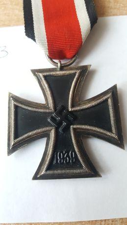 Odznaczenie niemieckie. Krzyż żelazny II klasy.