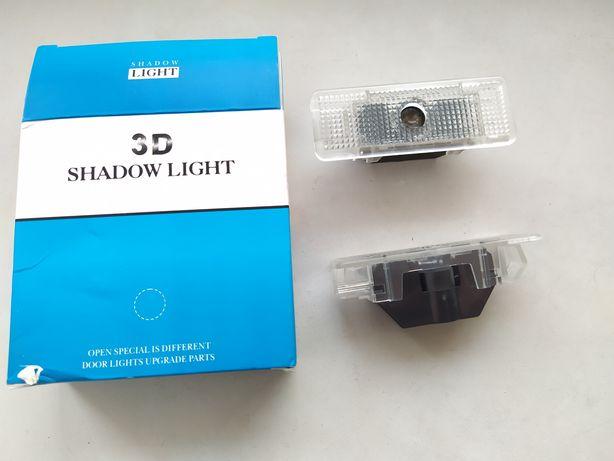 Подсветка дверей проекция для BMW