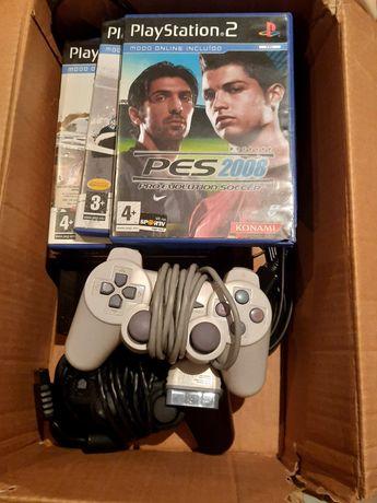 Playstation 2 com jogos