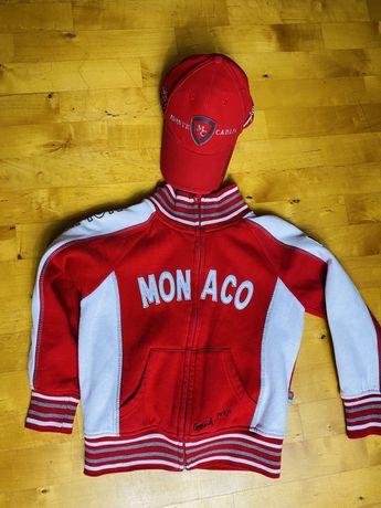 Oryginalna bluza i czapka Monaco Grand Prix chlopiec 6 lat