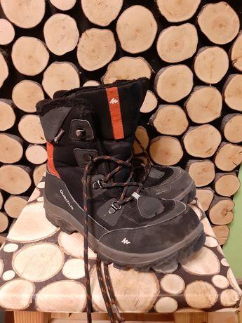 Ocieplane buty quechua 36